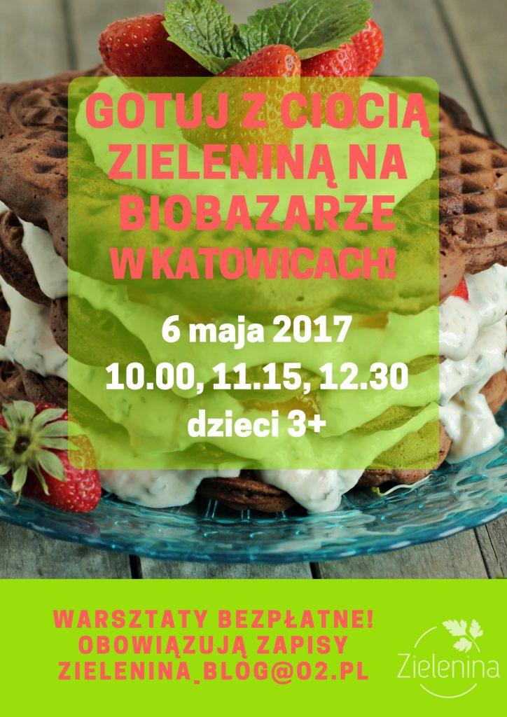 Gotuj z Ciocią Zieleniną na BioBazarze!(3)
