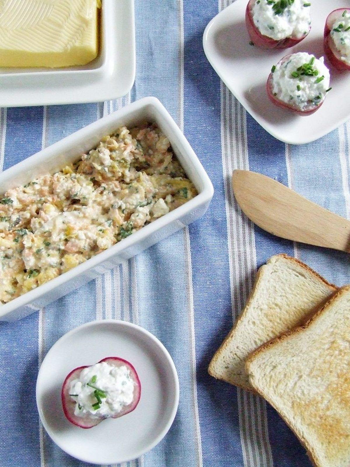 Twarożek z dynią i nadziewane rzodkiewki na niedzielne śniadanie – Tydzień Dyni