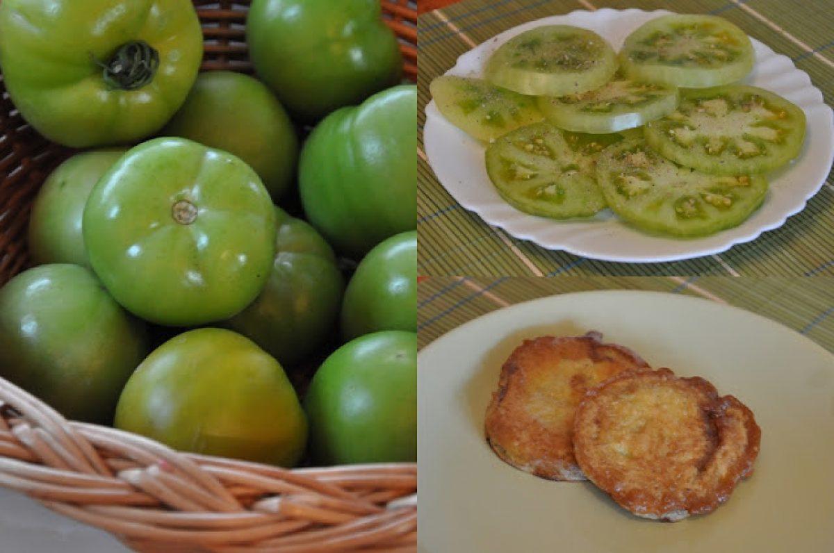 Smażone zielone pomidory od Moniki z bloga Na 4 ręce