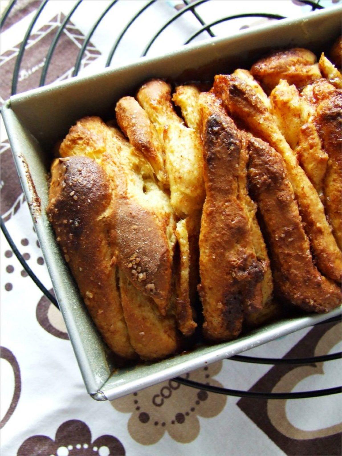 Cynamonowo-cytrynowe ciasto do odrywania – może być na śniadanie :)