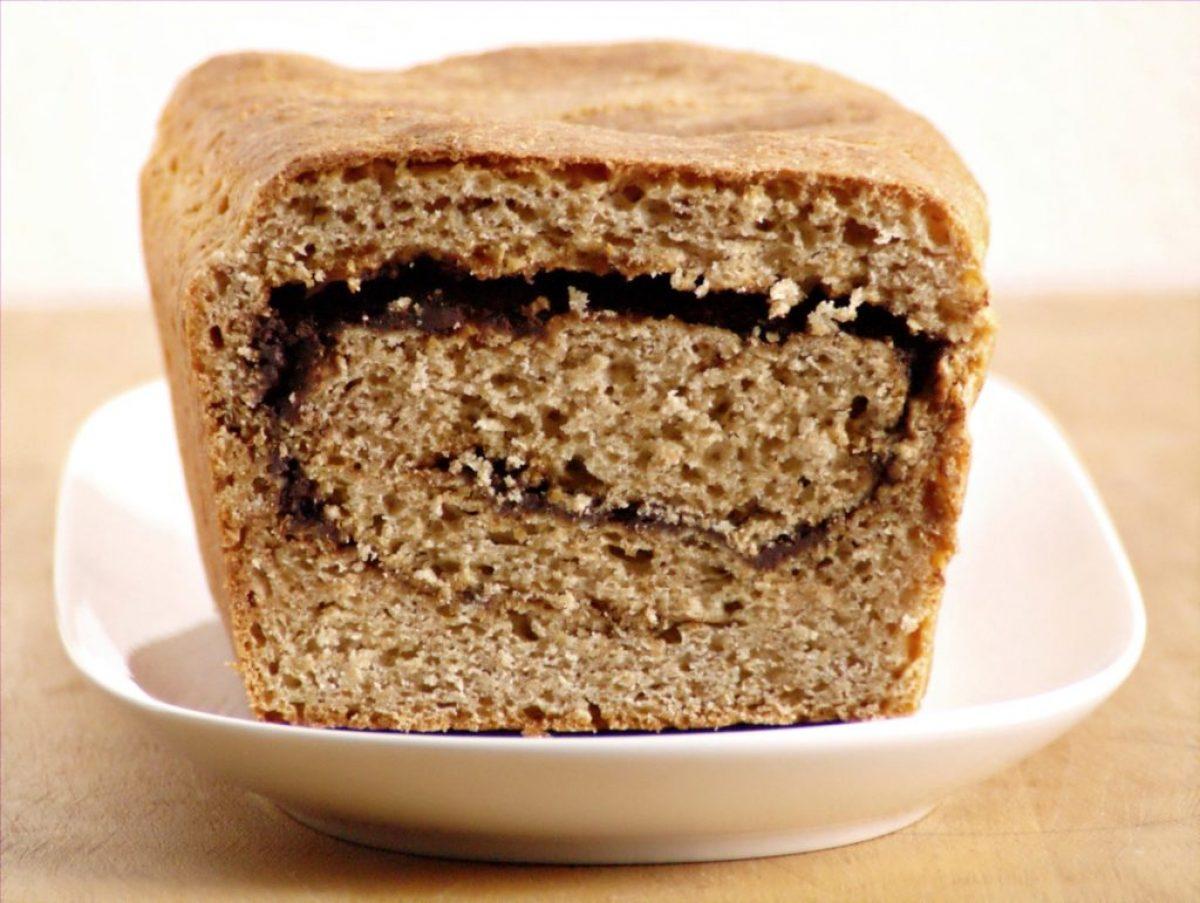 Chleb z czekoladą na czekoladowy weekend