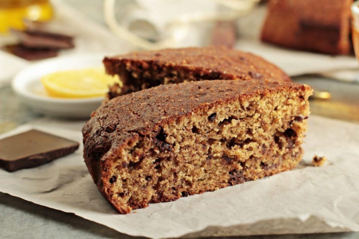 Czekoladowe ciasto z oliwą i rozmarynem
