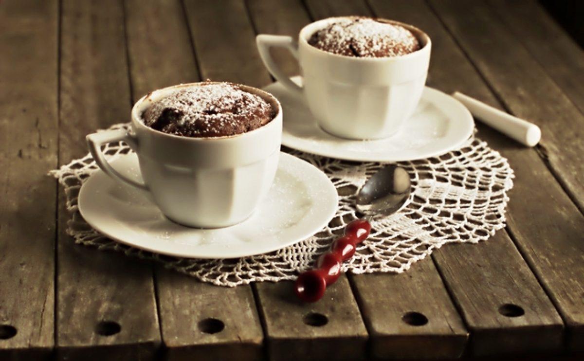 Suflet czekoladowy na Walentynki