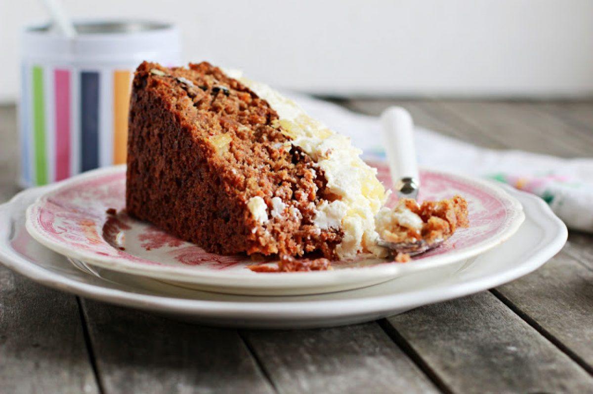Ciasto marchewkowe de lux