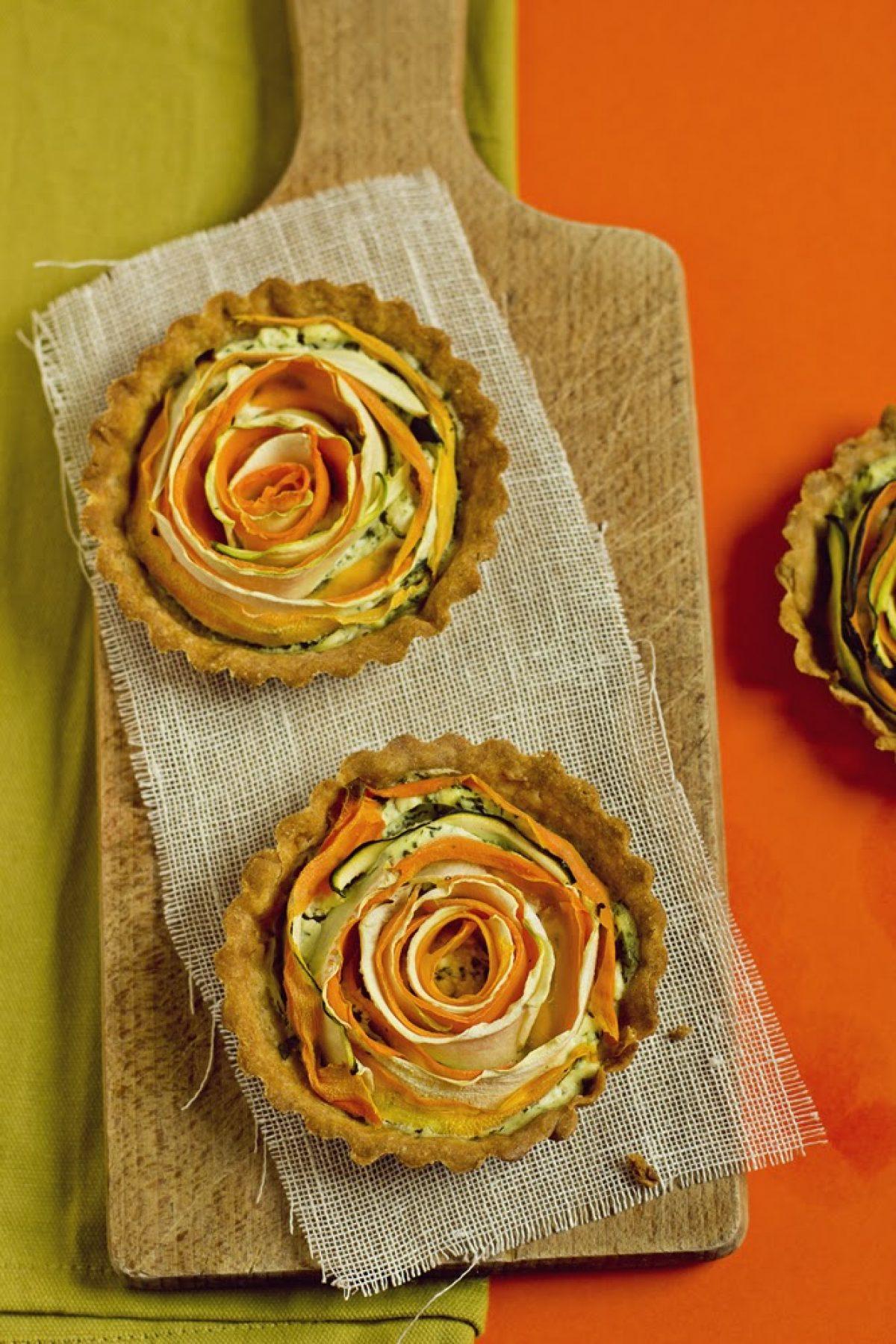 Tartaletki z marchewką i cukinią (bezglutenowe)