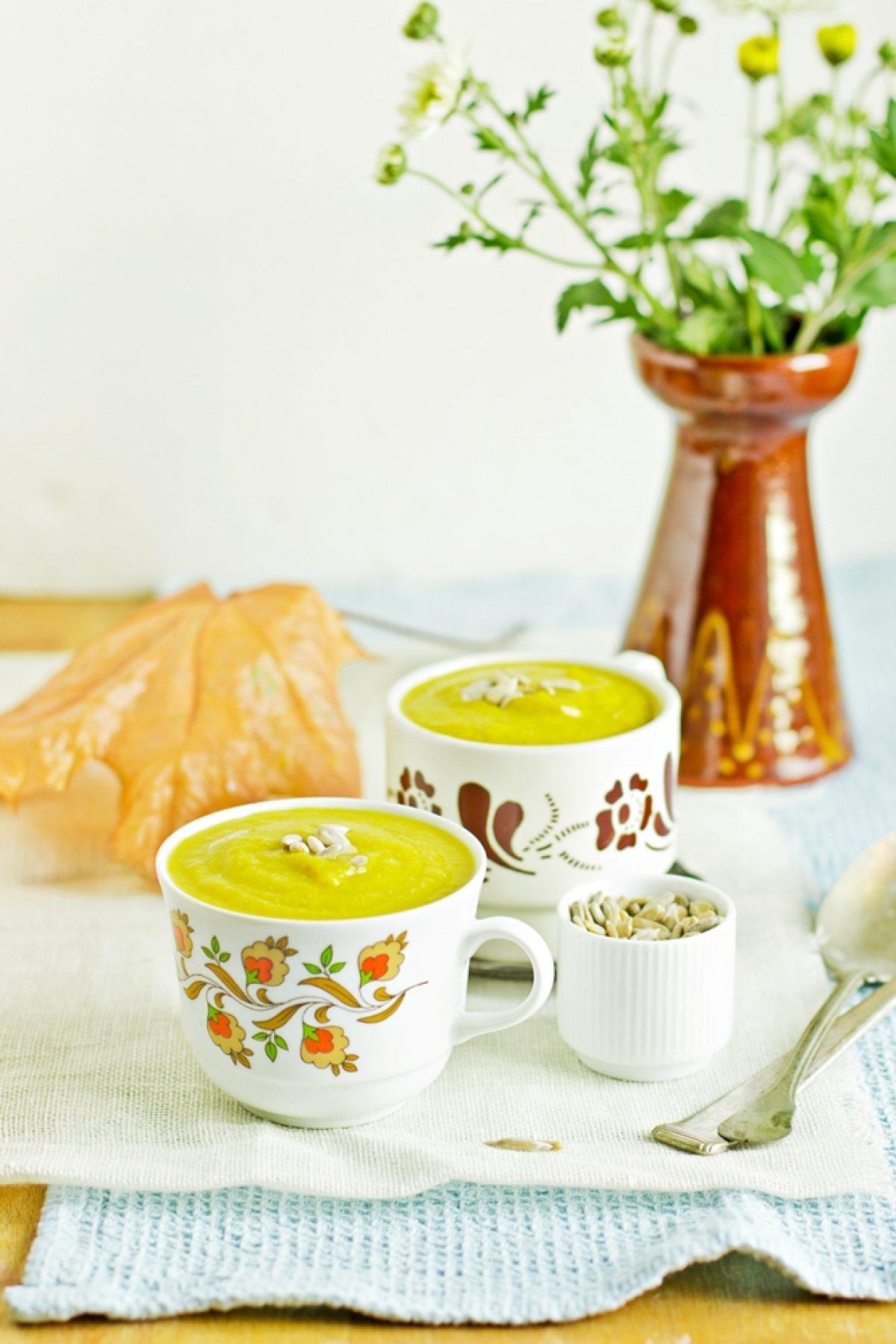 Krem z brokułu i fasolki szparagowej – Zielenina gotuje z Vitamixem! :)