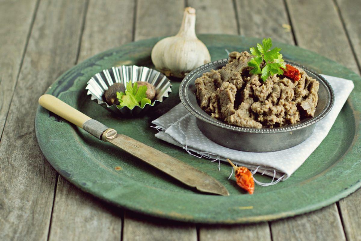 Pasztet grzybowy z soczewicy (wegański, bezglutenowy)
