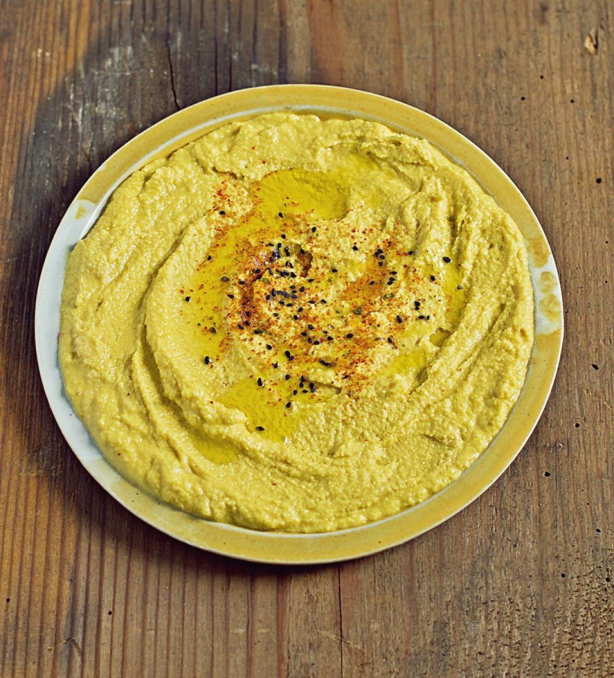 Hummus z surowa dynią – Zielenina z Vitamixa!