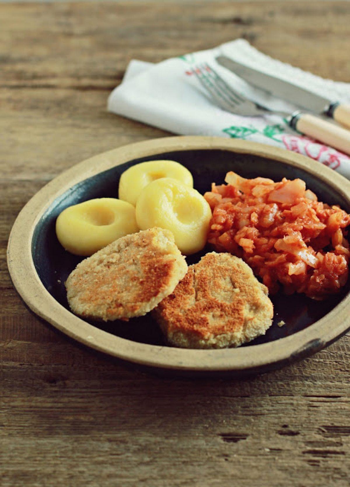 Śląski obiad w wersji wege :-)
