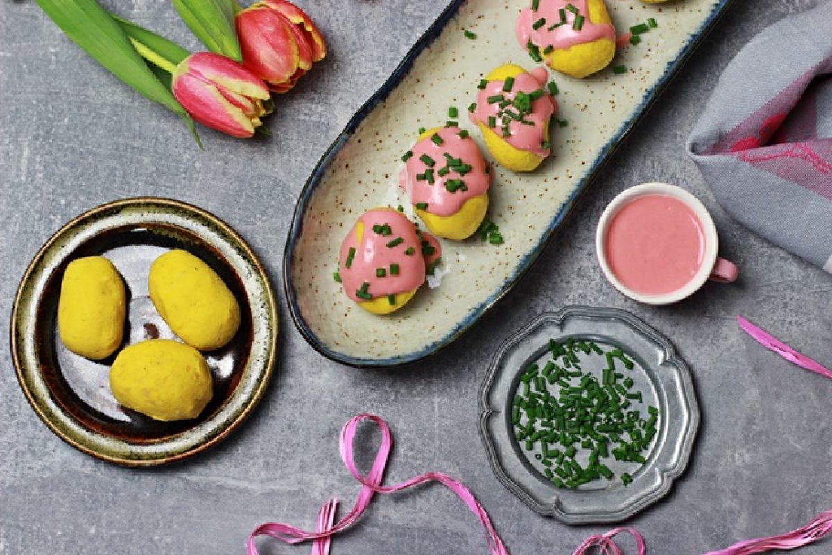 Wegańskie jajka. Z kaszy jaglanej i ciecierzycy – idealne na Wielkanoc!