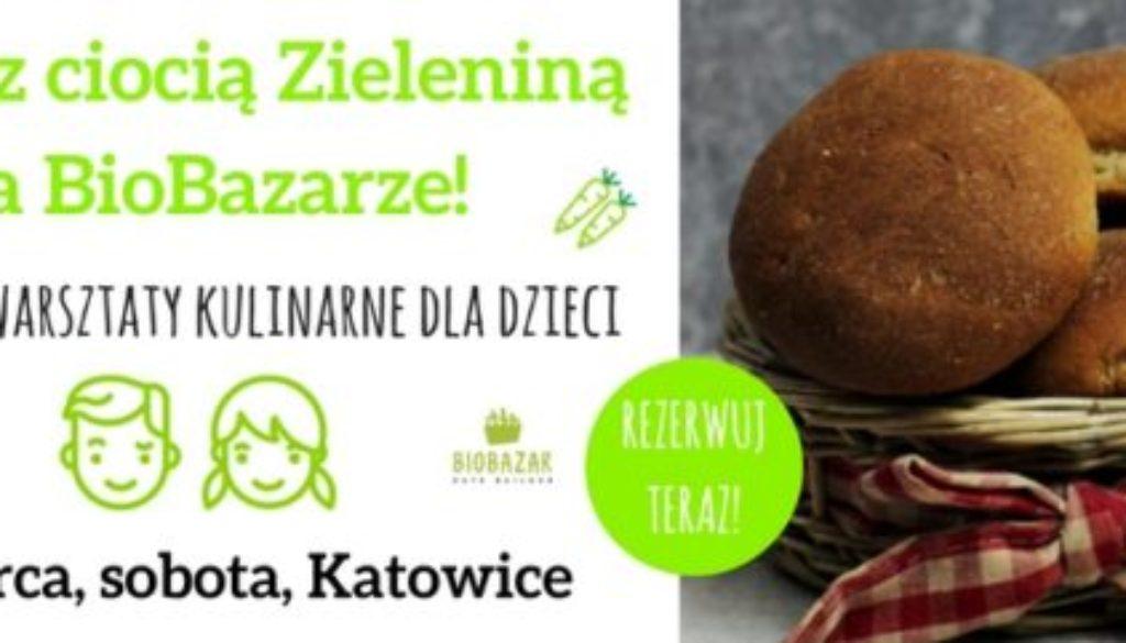Gotuj z ciocią Zieleniną na BioBazarze!MARZEC2018