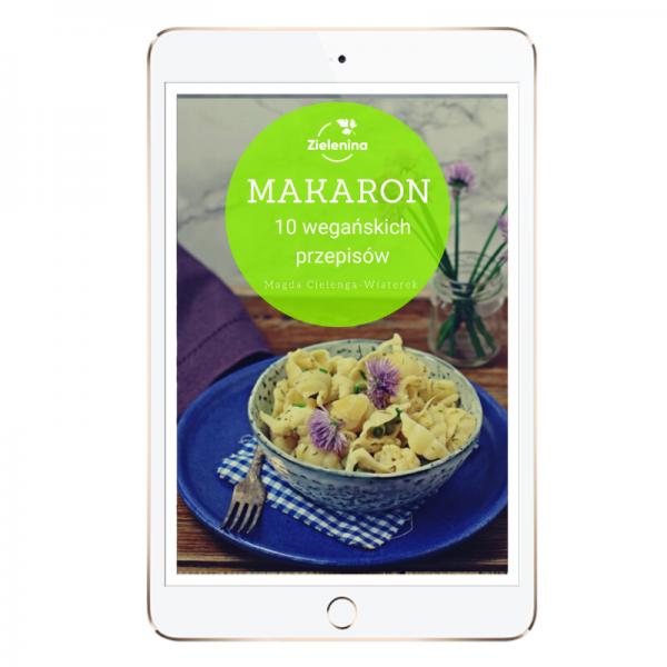 """Ebook """"Makaron"""". 10 wegańskich przepisów."""