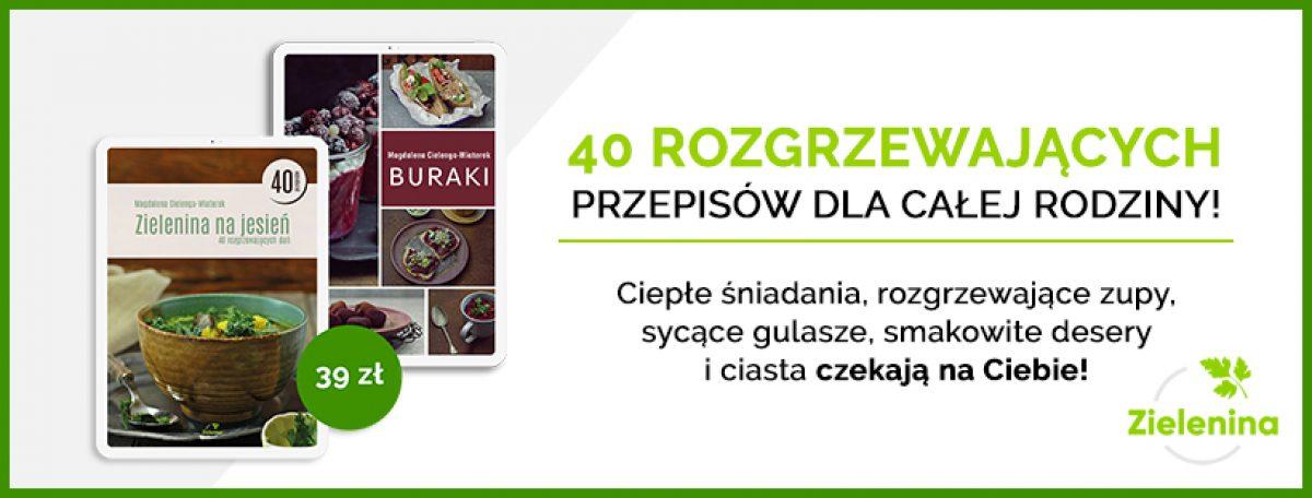 """Ebook """"Zielenina na jesień"""". 40 przepisów na poprawę humoru!"""