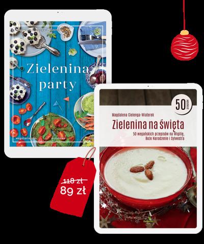 Idealny pakiet świąteczno-imprezowy! Zielenina na święta i Zielenina Party!
