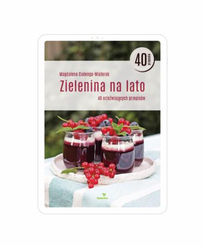 """Ebook """"Zielenina na lato"""". 40 orzeźwiających przepisów"""