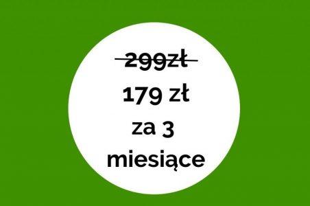 299 zł 149 zł za 3 miesiące(1)